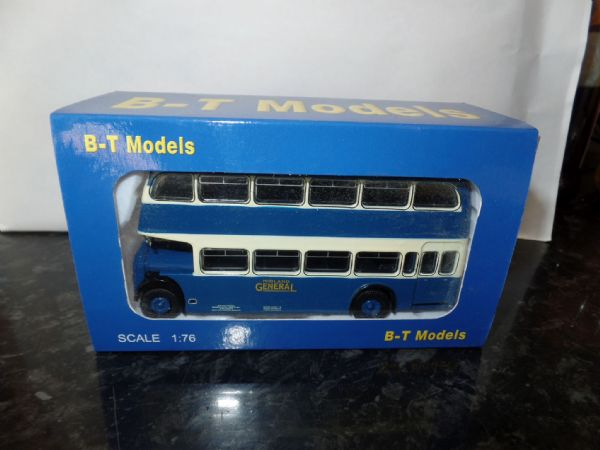B T Models B110A 1/76 OO Scale Bristol Lodekka LD Bus Closed Back Midland General Chesterfield